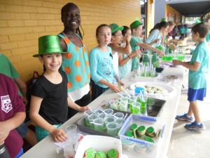 St Patrick's Day at St Luke's